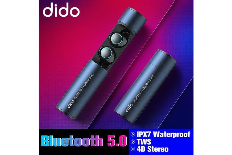 IPX7 Waterproof bluetooth 5.0 TWS True Wireless Stereo Earphone Earbud Headphone(grey,TWS Earphone)
