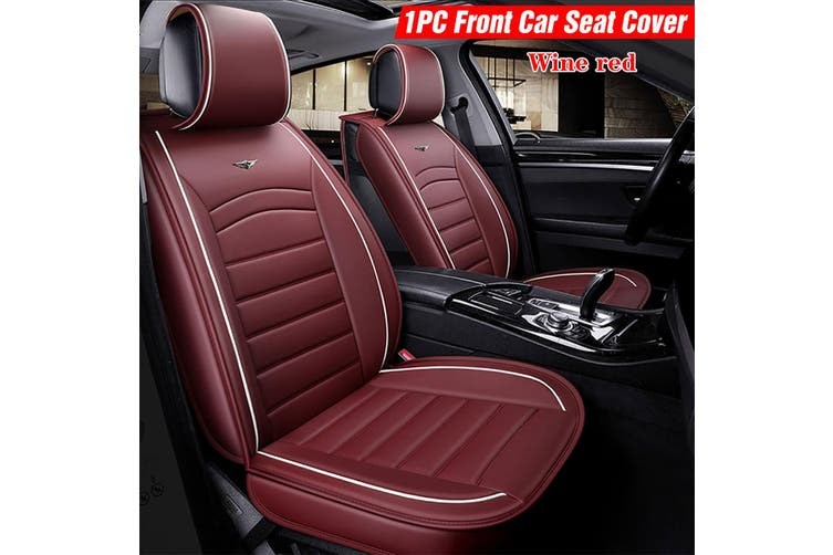 Waterproof Breathable PU Leather Auto Seat Cover Universal Car Cushion Seat Vehicle Seat Protector
