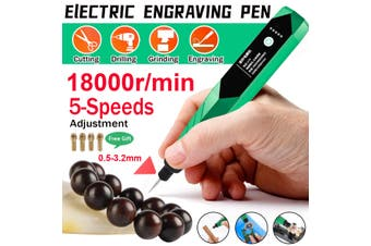 Adjustable 18000r/Min Electric Engraving Pen Metal Jade Carving Marking Machine