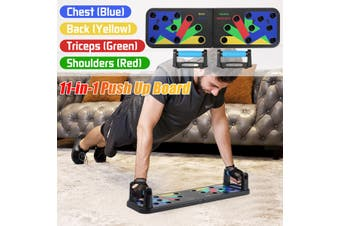 11-in-1 Push Up Training Board Portable Home Fitness Training Exercise Muscle