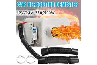 24V 500W Car Truck Fan Heater Winter Heating Warmer Windscreen Defroster Demister(24V 500W)