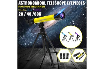464X80mm Refractor Astronomical Telescope Eyepieces w/ Tripod for Kids Beginner(Type B-Simple Set)