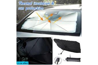 Car Sun Shade Protector Parasol Auto Front Window Sunshade Covers Protector Interior