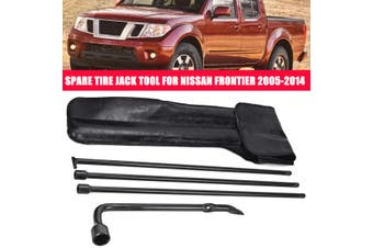 Spare Tire Jack Tool Lug Wrench Kit Replacement W/PU Leather Case For Nissan Frontier 2005-2014