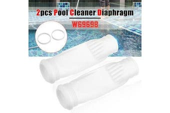 2x Pool Cleaner Diaphragm & Rings For Zodiac Baracuda G3 G4 W69698 W81701 W81700(2PCS)
