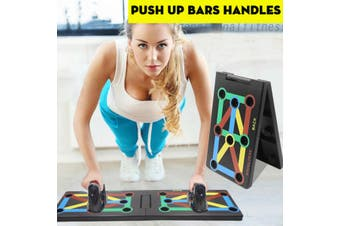 17 in 1 Push Up Board Stand Fitness Workout Gym Chest Muscle Pushup Exercise