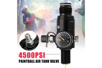 5/8''-18UNF Thread Paintball Valve Regulator 4500psi HPA Air Tank Output 1800psi(4500PSI)