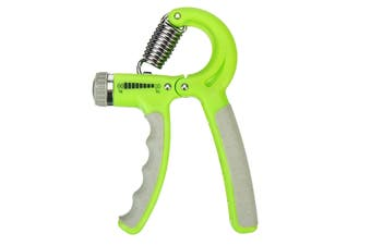 10-60Kg Wrist Forearm Strength Training Hand Power Grip Exerciser Gripper Sport Fitness(green)