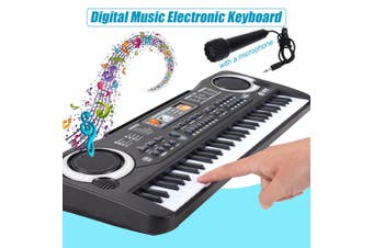 [53.5x17x5cm] 61 Key Digital Music Electronic Keyboard Piano Early Educational Tool Gift for Kids