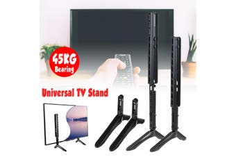"""14-100"""" Universal Table TV Stand Base LCD Flat Screen Table Top Pedestal Mount"""