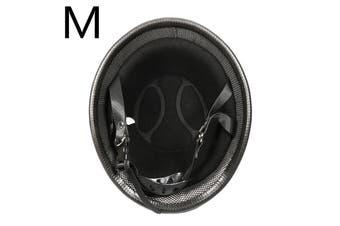 M/L/XL Black Motorcycle Half Face Helmet Motocross Bike Accessories