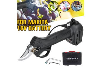 For Makita 18V Battery Electric Pruning Shears Secateur Tree Branch Cutter Scissor (For Makita 18V Battery)