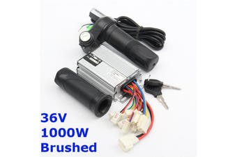 【Free Shipping】Plastic36V Motor Brush controller Electric Vehicle Throttle Handle Wires Interface Current limit 32A Rated Power 1000 W