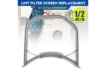 Lint Trap Screen Filter Replacement for LG Electronics Cloth Dryer ADQ56656401(1 pack)