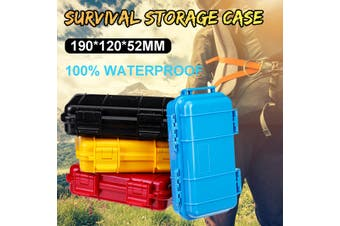 Outdoor Waterproof Sponge Storage Carry Boxes Container 100% High Quality 190X120X52MM(red,190x120x52MM)