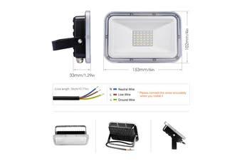 110V LED FloodLight 30W 60W Reflector LED Flood Light Waterproof IP67 Spotlight Wall Outdoor Lighting Cold White
