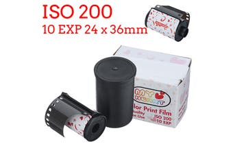 35mm Color Print Film Suitable for 135 Format Camera Lomo Holga Dedicated ISO 200 10EXP 24 x 36mm