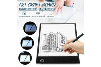【2 Types】A5 LED Tracing Light Box Board Craft Drawing Copy Pad Table Stencil Display