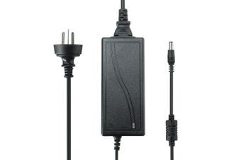 AC100-240V to DC 12V 3A 36W Power Supply Adapter for LED Strip - black