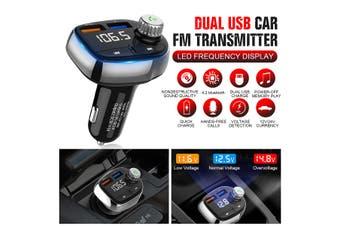 Wireless bluetooth Car MP3 FM Transmitter 2 USB Charger MP3 Radio Adapter Kit (1Sets)