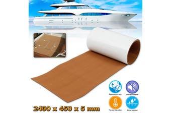 Self Adhesive EVA Foam Marine Floor Boat Sheet Pad Yacht Synthetic Teak Decking(Dark Brown)