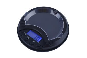 500g/0.1g LCD Electronic Digital Precise Pocket Scale Ashtray Balance Pockets Jewelry kitchen scale balance