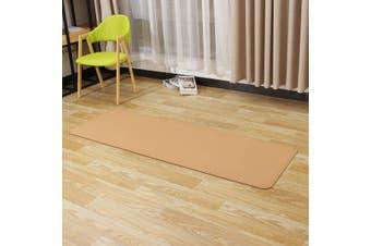 2Types Yoga Block/Yoga Mat 3-8MM Natural Cork Yoga Mat Pad Indoor Outdoor Sports Gym Exercise Mat(yoga mat 4MM)