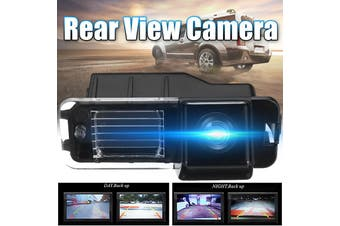 Car Rear View Backside Reverse Camera Night Vision Waterproof for Volkswagen (black)