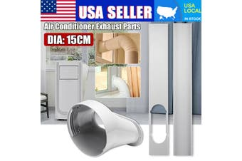 """2PCS Window Silde Kit Plate + Window Adaptor For 6"""" Portable Air Conditioner"""