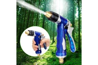 Garden Hose Nozzle Spray Gun High Pressure Multi-functional Adjustable Watering