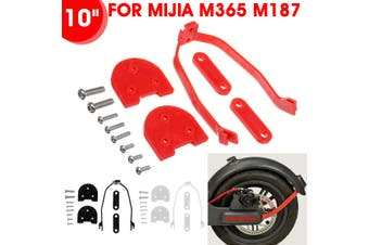 10'' Wheel Accessories Fender Shock Absorber Mount For Mijia m365 m187(white)