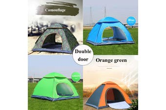 【Free Shipping】KCASA 2/3 Person Family Camping Tent Anti UV Outdoor Portable Foldabled Waterproof Swag BIG Hiking Beach Bag(camouflagegreen,L Size)