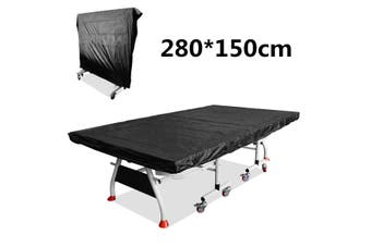 MULTIFUNCTIONAL TABLE TENNIS/PING PONG TABLE BLACK COVER FREE POSTAGE(black)