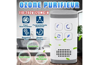 50x50x90MM Plug-In Air Purifier for Home Ozone Generator Sterilizer Odor Remover Deodorizer 120mg/h(UPGRADE)