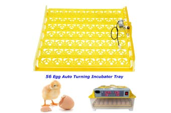 56 Eggs Automatic Multifuntion Incubator Chicken Hatcher Quail Poultry Turner Tray Turning Motor