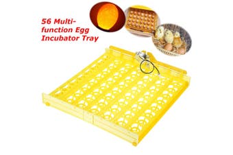 56 Egg Poultry Chicken Incubator Turner Tray Turning Motor Temperature Control