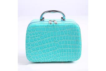 22 Bottles Diamond Painting Container Diamond Storage Hand Bag Case 5D Embroidery(blue,With 24 Bottles)