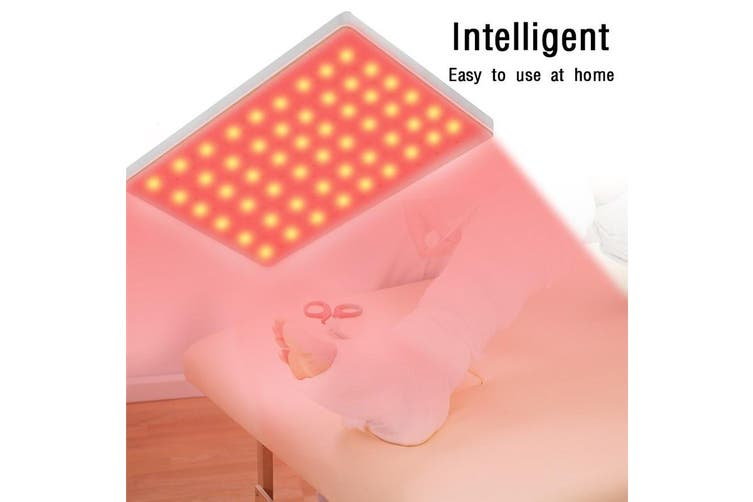 Infrared LED Therapy Pad Dual Light Deep Penetration For Pain Relief Safe, Effective, Easy, Aids Healing, Circulation, Chronic Pain, and Neuropathy(165LED)