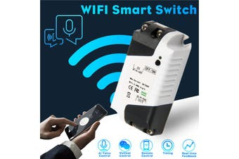 【Free Shipping + Flash Deal 】Smart Home WiFi Wireless Switch Voice Control Real-time Feedback Remote Control