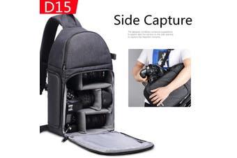 Type A/B Nylon Waterproof Storage Backpack Case Shoulder Bag For SLR DSLR Digital Camera (Without Logo)