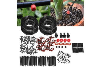 92m Micro Drip Irrigation Automatic Watering System For Plant Garden Greenhouse(92 meters)