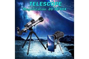 170mm Kids Beginner Astronomical Refractor Telescope Refractive Eyepieces Tripod 20/30/40X (20/30/40X)