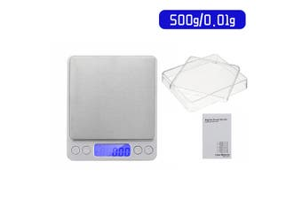 Mini Digital LCD Electronic Scale Kitchen Cooking Balance Food Weight Scale(500 g)