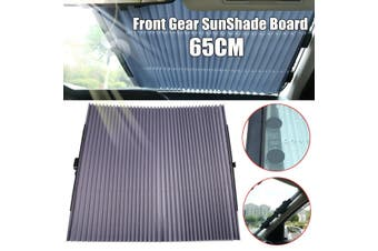 65CM Car Retractable Front Windshield Sun Shade Visor Folding Auto Block Cover(65cm front gear for small cars)