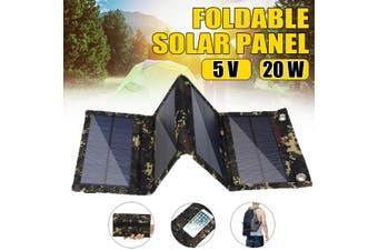 12V 20W Solar Panels Portable Folding Solar Panels USB Plug Solar Panel Charger