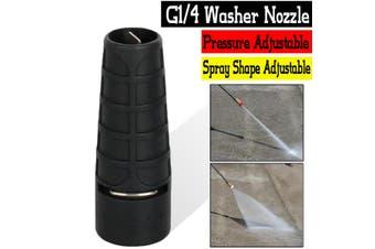 High Pressure Washer Water Spray Nozzle High Low Adjustable G1/4 Thread Garden