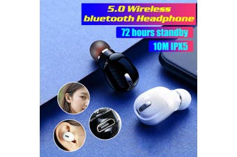 Wireless bluetooth Headset 5.0 Earphones TWS X9 Earbuds Waterproof Headphones(black)