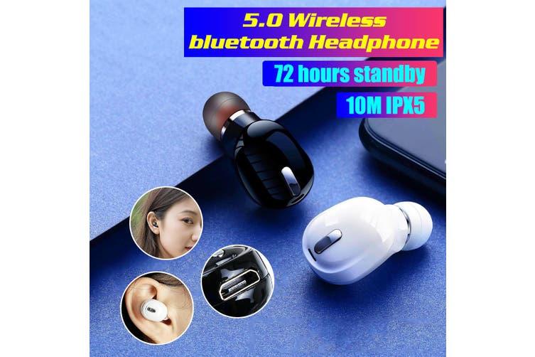 Wireless bluetooth Headset 5.0 Earphones TWS X9 Earbuds Waterproof Headphones(black)