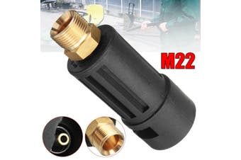 16 MPa M22 Pressure Washer Gun Lance Jet Wash Fitting Adapter Fit Karcher K-series