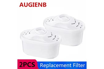 AUGIENB 2 pcs Replacement filters for 4.2 L Household Water Purifier Remove Substances 5-Layer Filtration 【Only Filter】